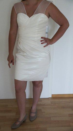 Brautkleid kurz, Gr. 42, UNGETRAGEN