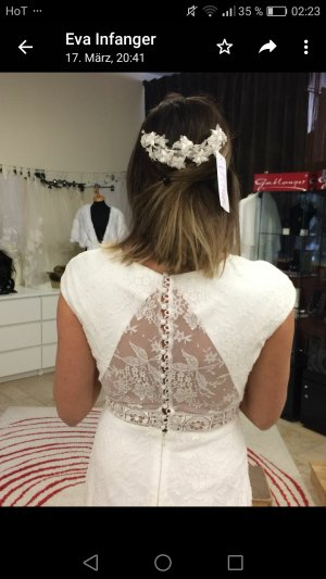 Brautkleid Manuel Pascual Spitze ungetragen