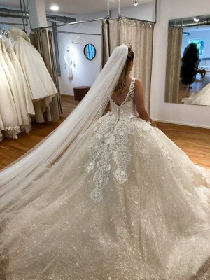 1.2.3 Paris Abito da sposa multicolore