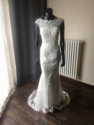 Brautkleid Meerjungfrau - Ivory - Gr.38 - Neu