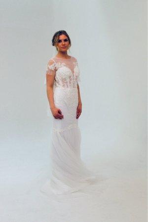 Brautkleid Meerjungfrau - UVP 1.399€ - Ivory - 36/38 - Neu