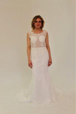 Brautkleid Meerjungfrau - UVP 1.399€ - Ivory - 36 - Neu