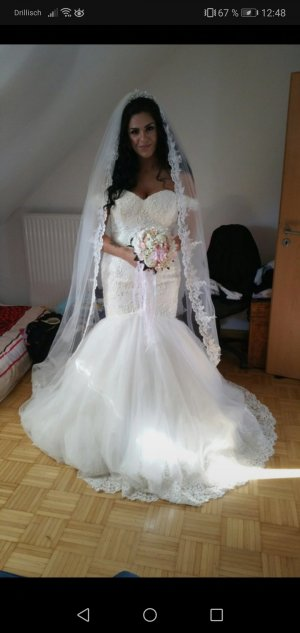 Brautkleid Meerjungfrauenstil