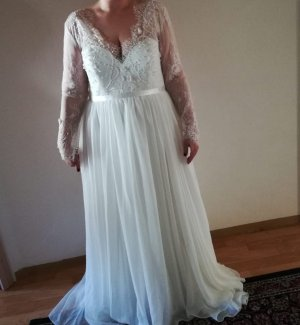 JJs House Wedding Dress white