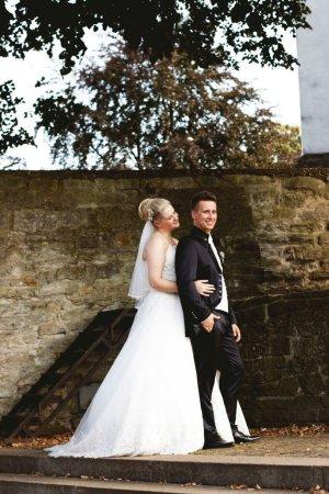 Brautkleid mit Schnürung