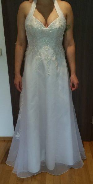 Brautkleid *Neu* Pailletten Swarovski Steine A-Linie