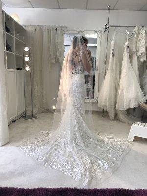 Amelie & Amelie Wedding Dress natural white polyester