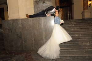 100% Fashion Abito da sposa bianco Altro