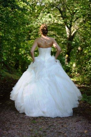 Brautkleid Prinzessinnenkleid Pronovias