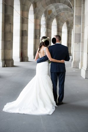Brautkleid Pronovias Meerjungfrauenstil