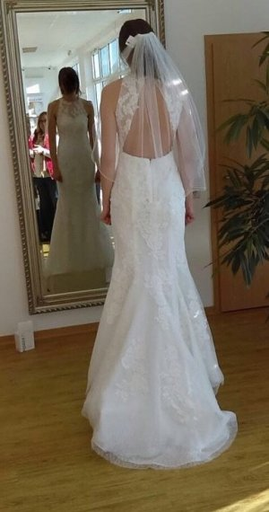Pronovias Robe de mariée blanc-blanc cassé