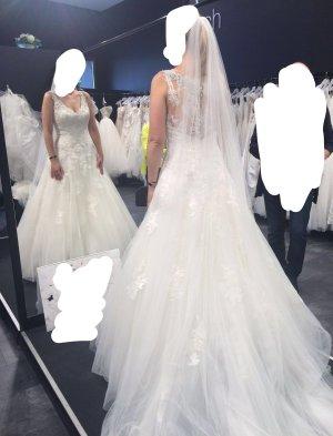 Si Barcelona Wedding Dress white-natural white mixture fibre
