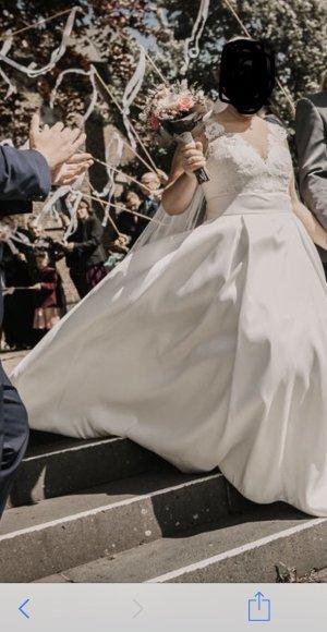 Brautkleid Satin
