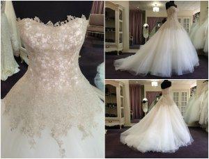 Brautkleid sehr elegant