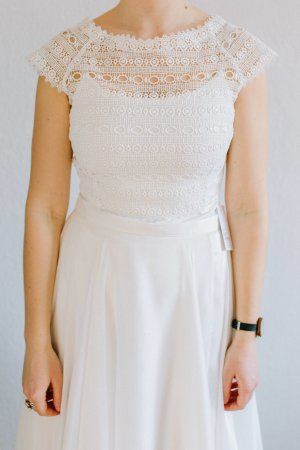 Bianco Wedding Dress white-natural white cotton