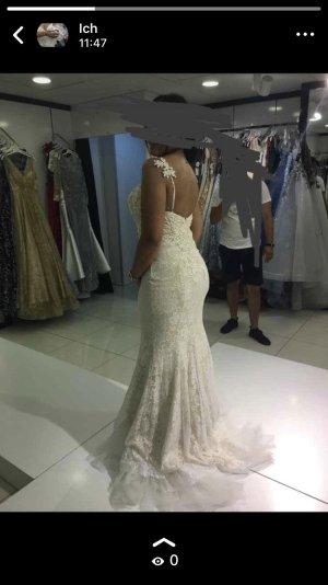 Wedding Dress cream-white