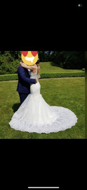 Brautkleid / Standesamt / Hochzeitskleid Meerjungfrau
