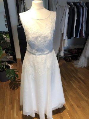 Monsoon Vestido de novia blanco-blanco puro