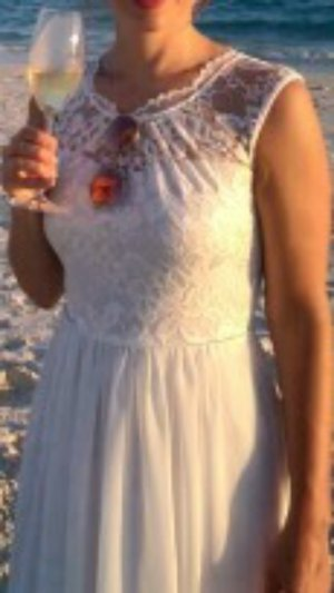 Brautkleid, Standesamt, Strandkleid, Hochzeit