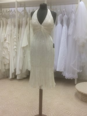 Brautkleid (Standesamt) White Pearl, gebraucht gebraucht kaufen Wird ...