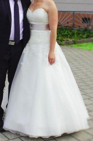 Agnes Abito da sposa multicolore Tessuto misto