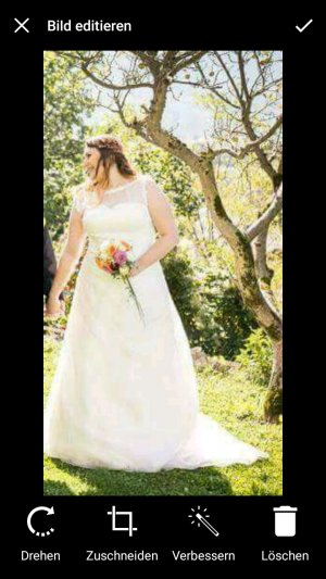 Lilly Abito da sposa bianco-bianco sporco