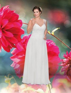 Lohrengel Robe de mariée multicolore