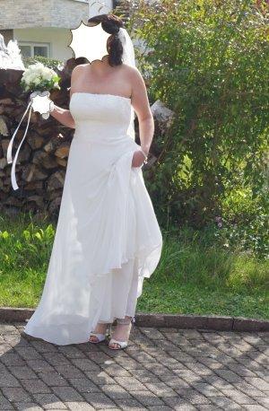 Agnes Moda blanco puro-blanco Poliéster