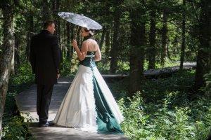 Brautkleid von Designerin Doren