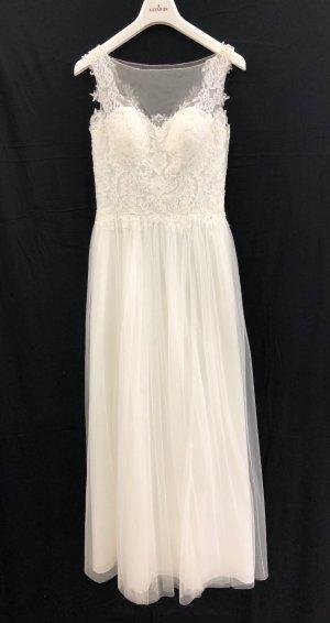 Kleemeier Hof Vestido de novia blanco puro