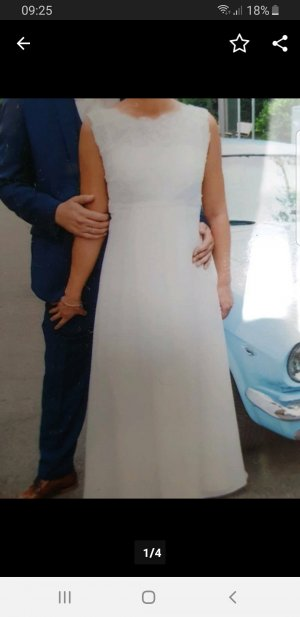 Brautkleid von Lilly in Größe 36