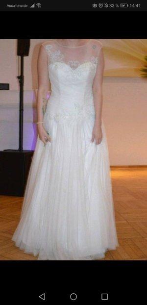 Lohrengel Vestido de novia blanco
