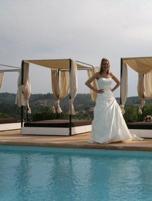 Brautkleid von Maggie Sottero inkl. Schleier / Reifrock / Brautbox, NP 1.840€