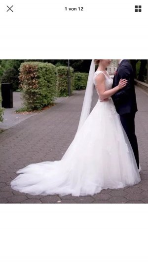 Brautkleid von Pronovias Gr. 38