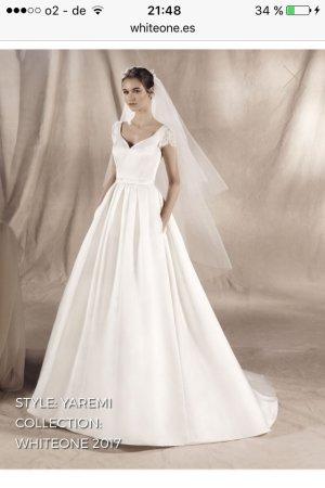 Brautkleid von Pronovias , White One,Gr .38 neu , nicht getragen