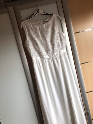 Swing Wedding Dress white-silver-colored