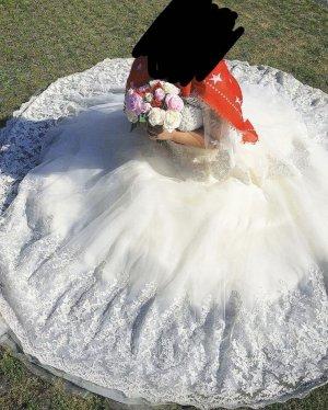 Brautkleid zum schnüren