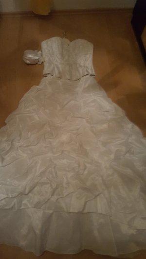 Brautkleid zweiteilig mit Beutel