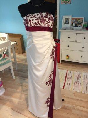 Brautkleider mit Rote Blummen
