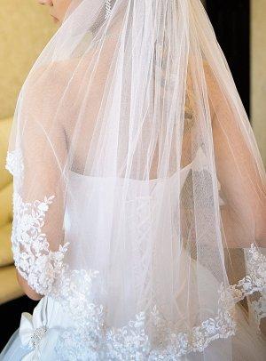 Brautschleier handgefertigt