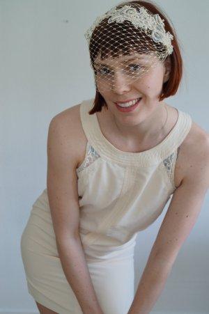 Spilla per capelli oro-beige chiaro
