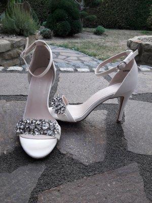 New Look Sandaletto con tacco alto bianco