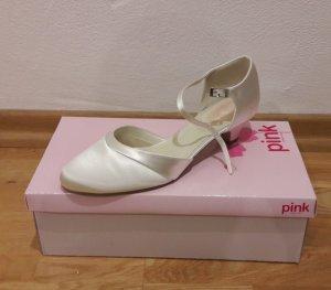 BRAUTSCHUHE (PAISLEY, Pink), Größe 41, Farbe invory *neu* (Neupreis: 109,- €)