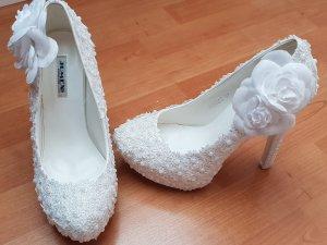 Brautschuhe, Plateauschuhe, High Heels
