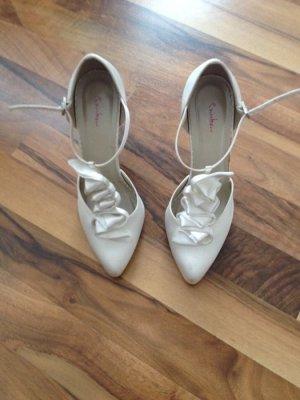 Brautschuhe Rainbow / Elsa Coloured Shoes creme Gr 5 / 38