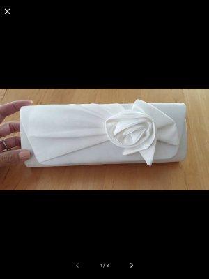 Brauttasche Clutch ivory