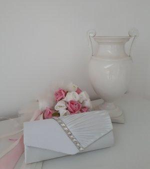 Brauttasche / Clutch mit Strass / Handtasche