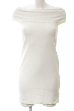 Brave Soul Jerseykleid weiß Elegant