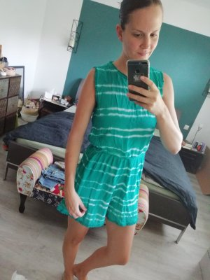 Brave Soul Jumpsuit Playsuit Einteiler Onepiece Anzug Batik Dip Dye