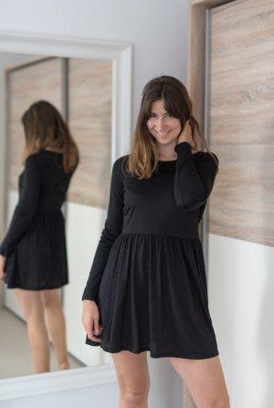 Brave Soul T-shirt jurk zwart